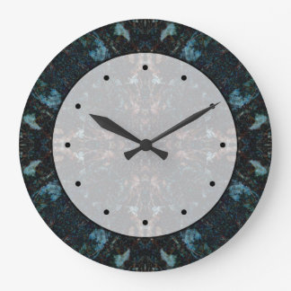 Dark Abstract Design with Some Soft Edges. Clocks