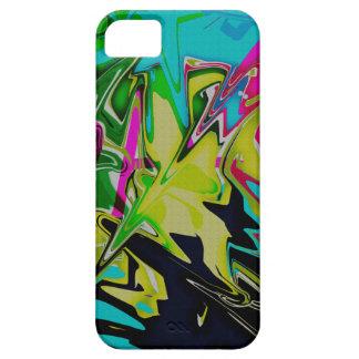 Dark Abstract Molten Color Drip iPhone SE/5/5s Case