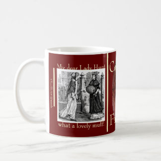 Dark Ambitious Fashion Encounter in Vanity Fair Coffee Mug