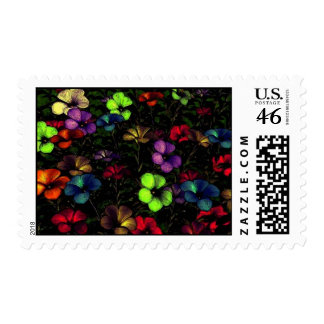 Dark and Bright Postage Stamps