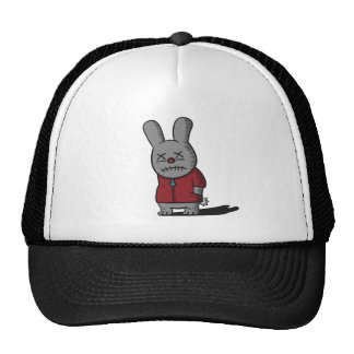 Dark and Gloomy Rabbit in red top Hats
