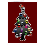 Dark and Gothic Holiday Greeting Card