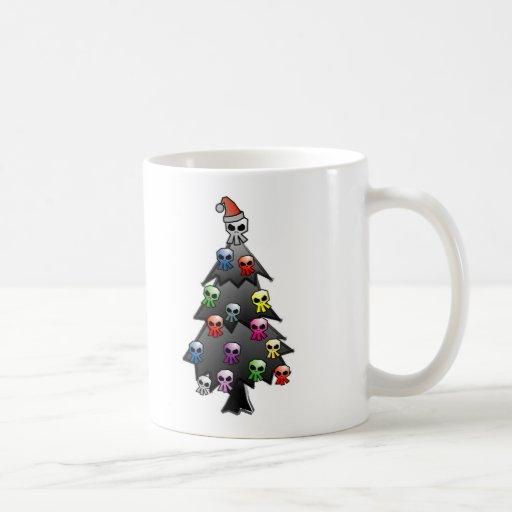 Dark and Gothic Holiday Greeting Coffee Mugs