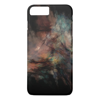 Dark and Gritty Abstract Black Clouds iPhone 8 Plus/7 Plus Case