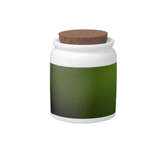 Dark and Intense Green Candy Jars