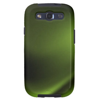 Dark and Intense Green Galaxy S3 Cases
