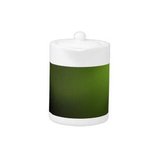 Dark and Intense Green Teapot