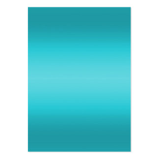 Dark and Light Aqua Blue Gradient - Turquoise Large Business Card