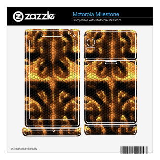 Dark and light colored tiles motorola milestone decal