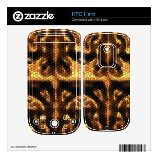 Dark and light colored tiles decals for the HTC hero