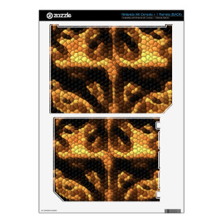 Dark and light colored tiles nintendo wii decal