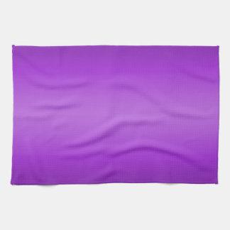 Dark and Light Purple Gradient - Violet Template Kitchen Towel
