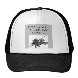 dark and stormy night cliche joke trucker hat