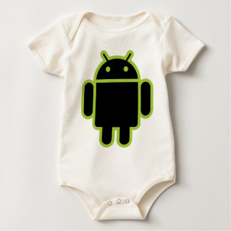 Dark Android Baby Bodysuit
