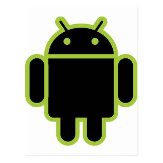 Dark Android Postcard