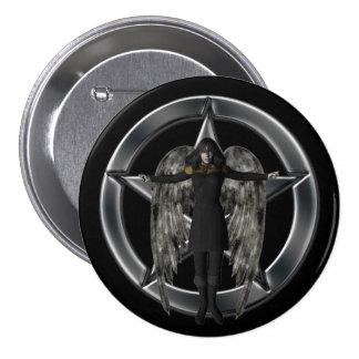 Dark Angel 3 Inch Round Button