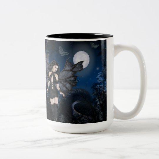 Dark Angel & Dark Night Series Two-Tone Coffee Mug