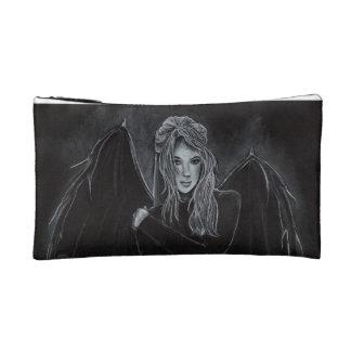 """Dark Angel"" gothic fairy vampire COSMETIC BAG"