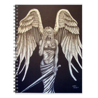 Dark Angel Light Angel Notebook