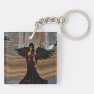 Dark Angel Love Key Chain