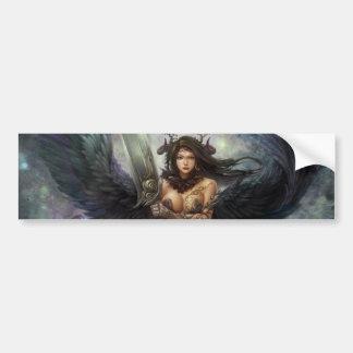 """Dark Angel """"Sunilda"""" Bumber Sticker Car Bumper Sticker"""