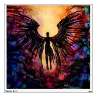 Dark angel wall decal