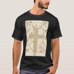 Dark Antique Celtic Serpent Cross shirt