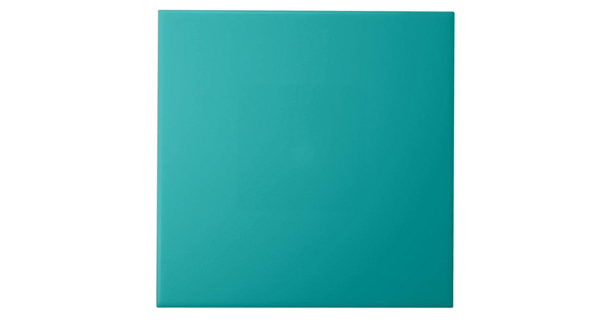 Dark Aqua Blue Green Fashion Color Trend 2014 Tile ...