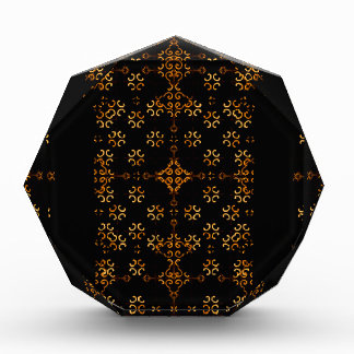 Dark Arabic Ornate Award