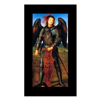 Dark Archangel Michael Business Card