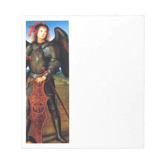 Dark Archangel Michael Notepad