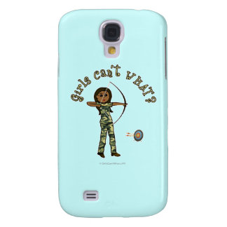 Dark Archery in Camouflage Galaxy S4 Cover