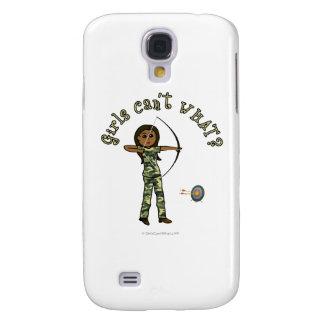 Dark Archery in Camouflage Samsung Galaxy S4 Cases