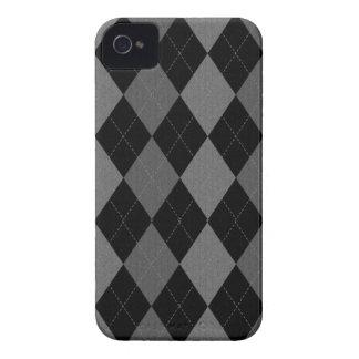Dark Argyle iPhone 4 Case
