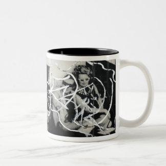Dark-Art Two-Tone Coffee Mug