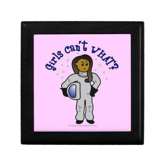 Dark Astronaut Girl Gift Box