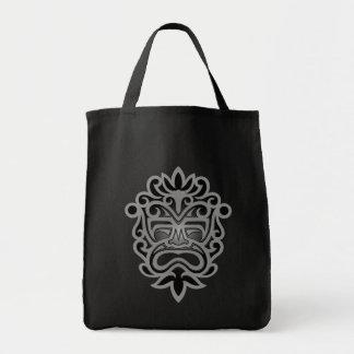 Dark Aztec Mask Tote Bag