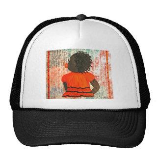 dark babygirl mesh hats
