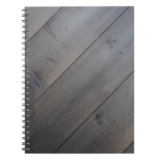 Dark background of the diagonal of the old pine pl notebook
