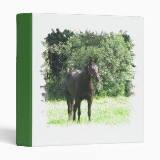 Dark Bay Horse Binder