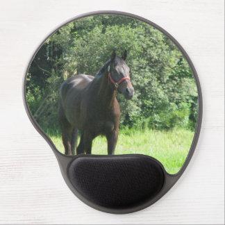 Dark Bay Horse Gel Mouse Pad