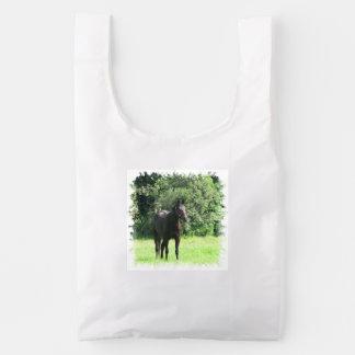 Dark Bay Horse Reusable Bag