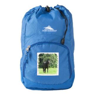 Dark Bay Horse Backpack