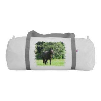 Dark Bay Horse Gym Duffel Bag