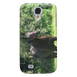 Dark Bay Horse iPhone 3G Case Samsung Galaxy S4 Case