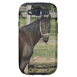 Dark Bay Horse  Samsung Galaxy Case Samsung Galaxy SIII Case