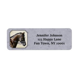 Dark Bay Sport Horse Gray Label