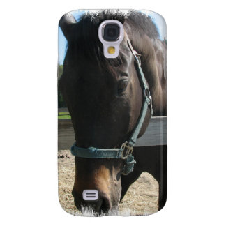 Dark Bay Thoroughbred Horse iPhone 3G Case Galaxy S4 Covers