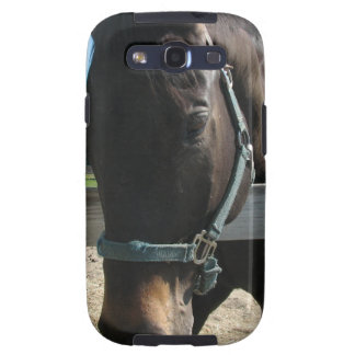 Dark Bay Thoroughbred Horse Samsung Galaxy Case Galaxy S3 Cases