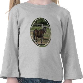Dark Bay Thoroughbred Toddler T-Shirt